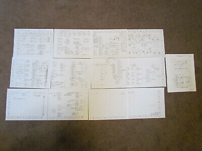 Vintage Friden 1162 Calculator Logic Schematic + Maintenance Manual Bundle RARE!