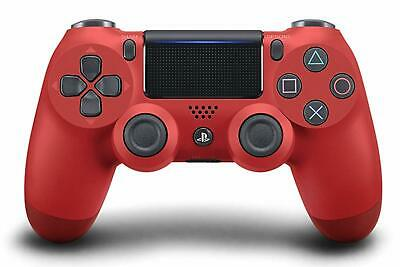 CONTROLLER PS4 wireless colore MAGMA RED ROSSO DUALSHOCK 4 nuovo