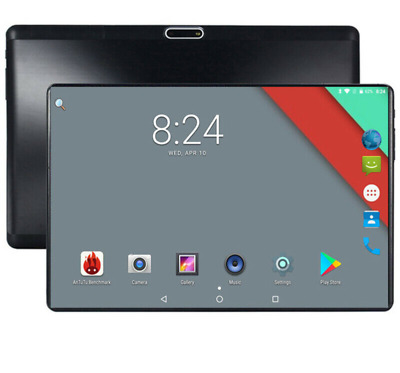 Tablet PC 2019 10 inch 4G LTE Phone Call Android 7.0 4 GB +64 GB IPS HD GPS WiFi