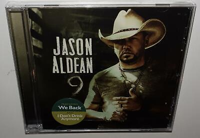 Jason Aldean 9 (2019 Release) Brand New Sealed Cd
