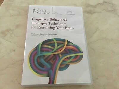 Cognitive behavioural therapy CBT   retraining your brain dvd  Prof satterfield