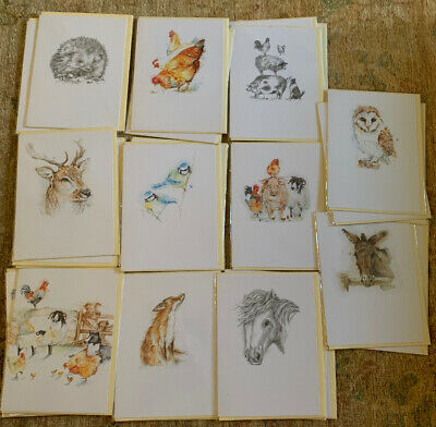 Wholesale Joblot Birthday Greetings Cards X 30 Animals Wildlife Birds