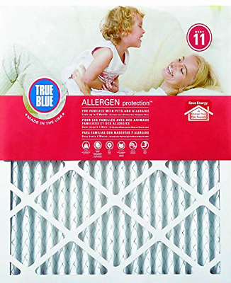Allergen Protection 16x25x1 Pleated Air Filter Dust Dirt Pollen MERV 11 4 Pack
