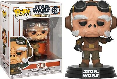 Star Wars The Mandalorian Kuiil Vinyl POP! Figure Toy #329 FUNKO NEW MIB