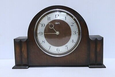 Vintage SMITHS Mantel Clock With Winding Mechanism - 254
