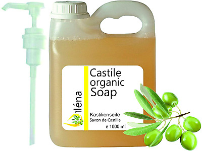Genuine ORGANIC CASTILE SOAP based solely on Olive Oil, removes blackheads, body