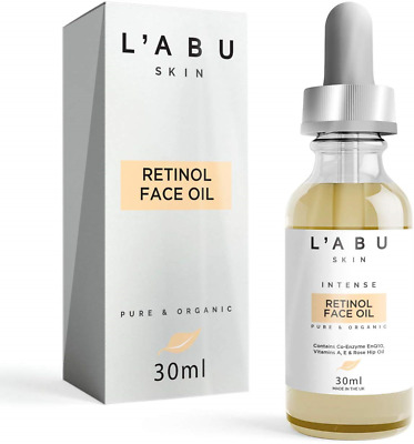 L'ABU SKIN | Intense Organic Retinol Face Oil 50ml | Vegan & Cruelty Free