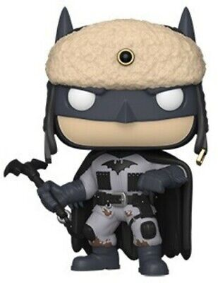 Batman 80th - Red Son Batman (2003) - Funko Pop! Heroes: (2019, Toy NUEVO)