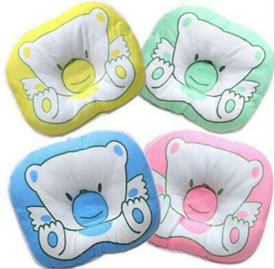 Newborn Baby Soft Stereo Pillow Bear Pattern Support Pad For Flat Head Syndrome