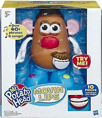 Playskool Mr Potato Head Movin Lips Electronic Interactive Talking Toy E4763802
