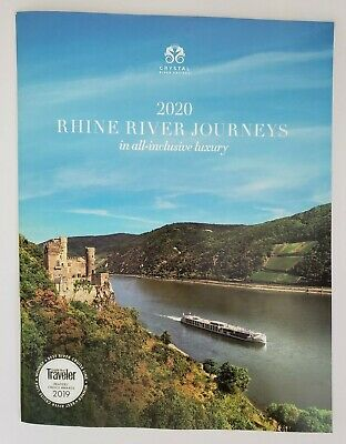 2020 Crystal River Cruises RHINE RIVER Journeys in ALL- INCLUSIVE Luxury Catalog