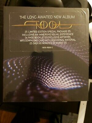 Tool Fear Inoculum 2019 Limited Collectors Edition CD Album HD Screen Sold Out