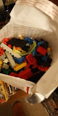 LEGO Bulk Lot of 2 Pounds Bricks Parts and Pieces Clean Genuine 2 Lbs Grab Bag.