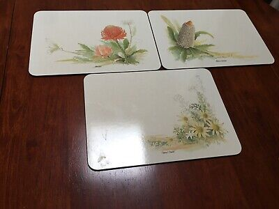 Jason Australian Wildflowers Placemats And Coasters