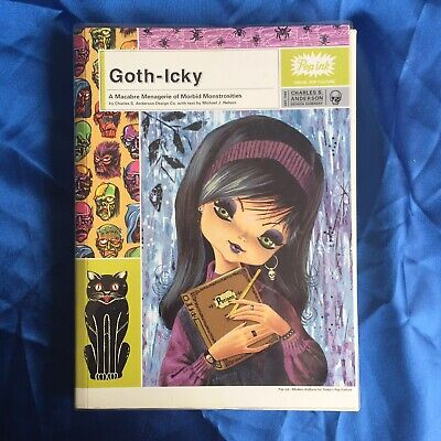 Goth-Icky - A Macabre Menagerie of Morbid Monstrosities - Pop Ink Art Book Comic