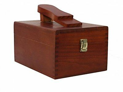 Kiwi Select Shoe Shine  Valet II Wooden Box  - NO CONTENT INCLUDED