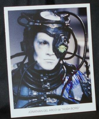 Jonathan Del Arco STAR TREK NG AUTOGRAPH photo