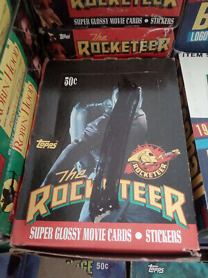Rocketeer Trading Cards Box 36 Packs