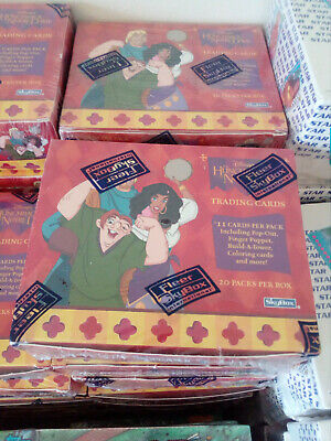 The Hunchback Of Notre Dame Trading Cards Box 20 Packs