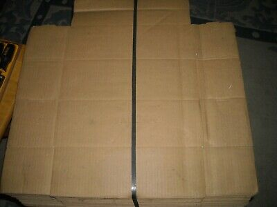 "47 M1244 12"" x 4"" x 4"" boxes new single wall corrugated  NOS"