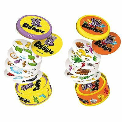 Official Dobble Bundle! Dobble Classic & Dobble Animals Card Game!