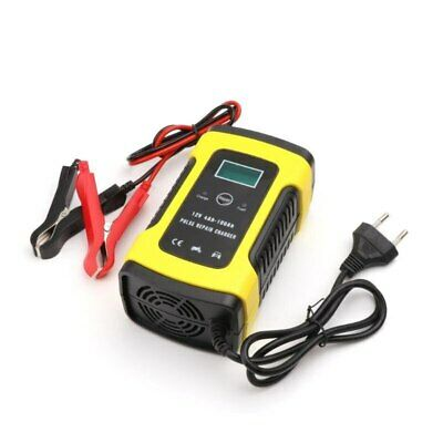 12V Automatic Car Battery Charger For Auto Motorcycle Lead-Acid Batteries