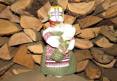 "Handmade Scythian-Sarmats-Slavic Charm-Amulet Big Doll Motanka ""On Motherhood""#2"