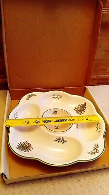 Spode Christmas Tree Large Serving Dip / Dipping Dish / Bowl 32cm *VGC*