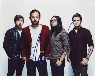 Kings Of Leon Band Reprint Signed 8X10 Photo Autographed Christmas Man Cave Gift