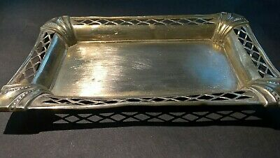 VINTAGE Antique EPNS Small Tray