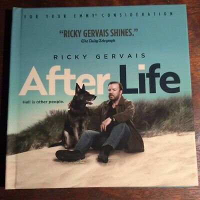 After Life DVD Netflix FYC 2019 Complete Series 6 Episodes Ricky Gervais