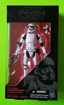 Hasbro Star Wars The Black Series 6-Inch First Order Stormtrooper 04 - NEW