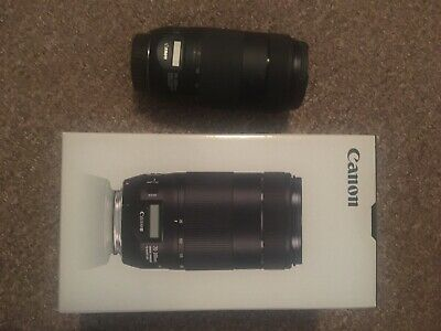REDUCED Canon EF 70 300mm Is II USM Lens 3 Hoya Pro Filters Pouch