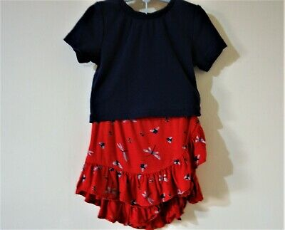 Girl's Top & Skirt by Marks & Spencer size  3-4 yrs