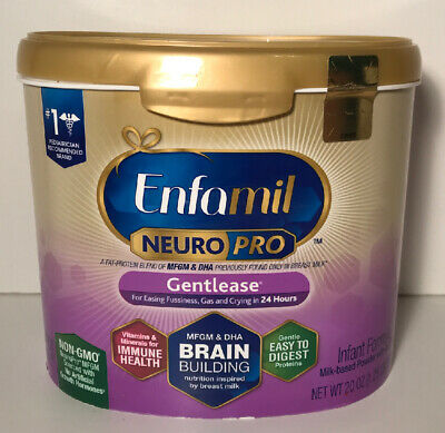 Enfamil NeuroPro Gentlease Infant Formula Powder 20oz Exp. 02/2021