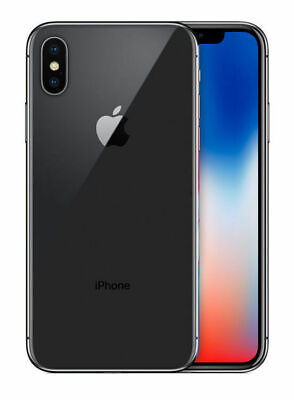 Apple iPhone X 64GB Space Gray (CDMA/GSM Unlocked Verizon AT&T T-Mobile Sprint)