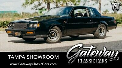 1987 Buick Grand National -- 3.8L V6F OHV 1987 Buick Grand National  Low Miles 3.8L V6F OHV Automatic
