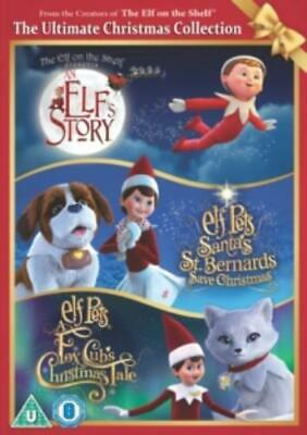 Elf On the Shelf: The Ultimate Christmas Collection =Region 2 DVD,sealed=