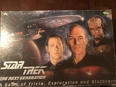 Star Trek The Next Generation Game Of Trivia Exploration And Discovery Complete