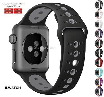Correa Pulsera Silicona Deportiva Para Apple Watch Series 1/2/3/4/5 38-40-42-44