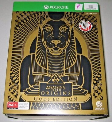 Xbox One Assassins Creed Gods Collectors Edition Game New Sealed