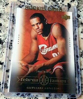 LEBRON JAMES 2003 Upper Deck SP #1 Draft Pick Rookie Card RC MVP L.A. Lakers $$