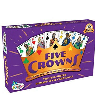 Five Crowns Rummy Card Game, Family Party Card Games, FAST SHIPPING From USA