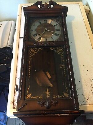 "large pendulum wall clock ""local pick up only will not post """