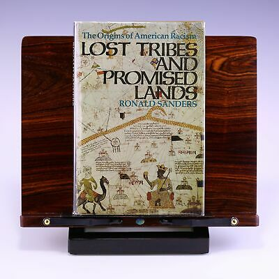 * First Hardcover Edition * Lost Tribes and Promised Lands Ronald Sanders