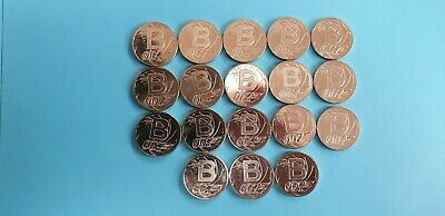 Alphabet 10p Letter B 2018 X 18 Coins UNC from sealed bags