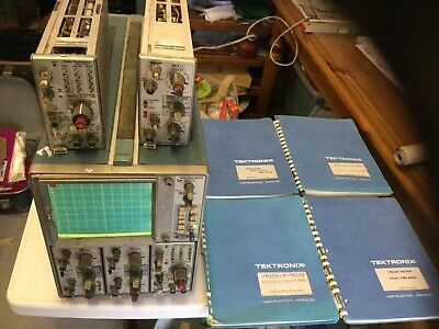 tektronix 7603 oscilloscope - Working Order With Manuals And Two Extra Units