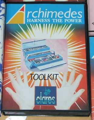 Toolkit software for the Acorn Archimedes by Clares