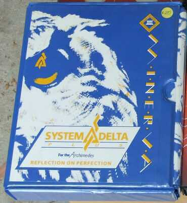 System Delta Plus software for the Acorn Archimedes by Minerva