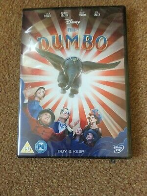 dumbo 2019 dvd brand new and sealed